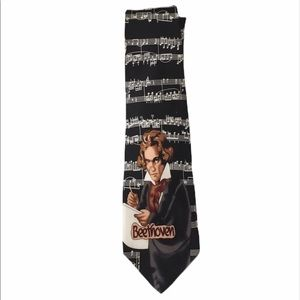 ROBIN RUTH Beethoven musical notes tie